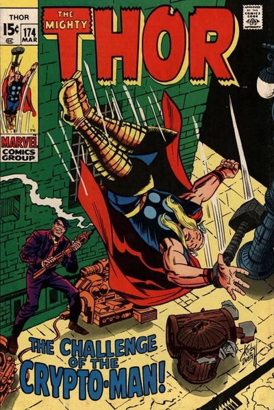 Cover for Thor (Marvel, 1966 series) #174