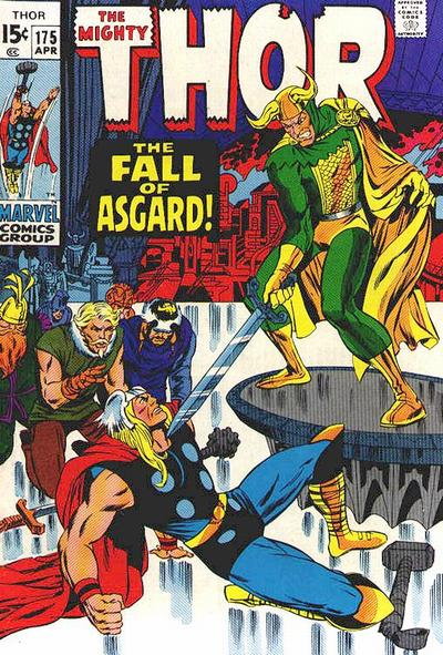 Cover for Thor (Marvel, 1966 series) #175