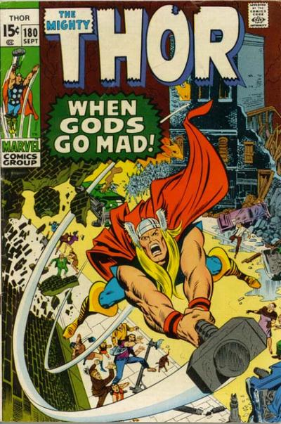 Cover for Thor (Marvel, 1966 series) #180