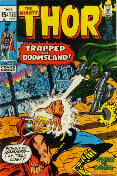 Cover for Thor (Marvel, 1966 series) #183