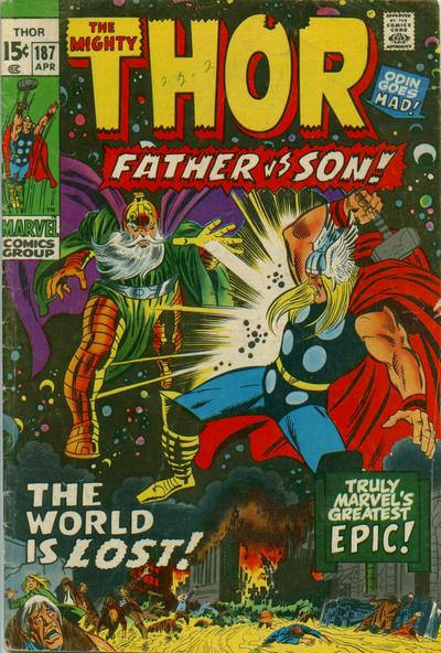 Cover for Thor (Marvel, 1966 series) #187