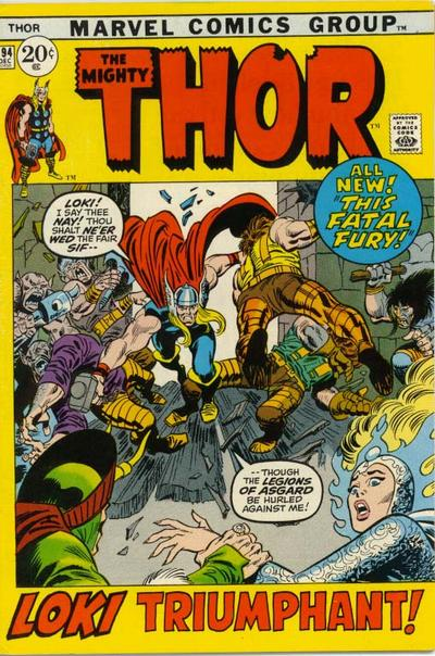 Cover for Thor (Marvel, 1966 series) #194