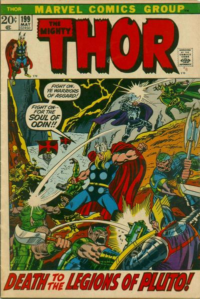 Cover for Thor (Marvel, 1966 series) #199