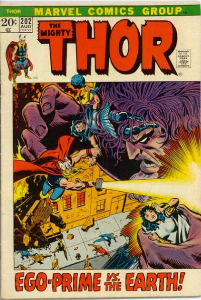 Cover for Thor (Marvel, 1966 series) #202