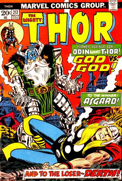 Cover for Thor (Marvel, 1966 series) #217 [Regular Edition]