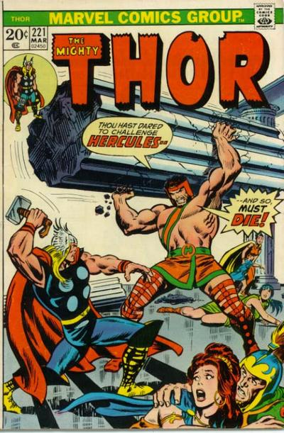 Cover for Thor (Marvel, 1966 series) #221 [Regular Edition]