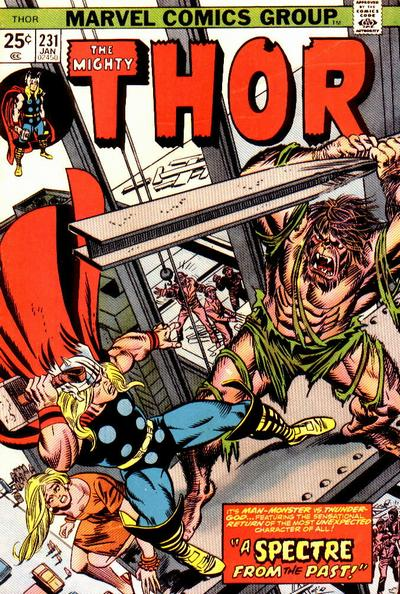 Cover for Thor (Marvel, 1966 series) #231 [Regular Edition]