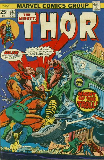 Cover for Thor (Marvel, 1966 series) #237 [Regular Edition]