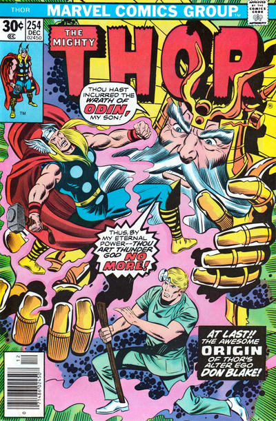 Cover for Thor (Marvel, 1966 series) #254 [Regular Edition]