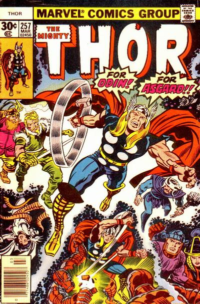 Cover for Thor (Marvel, 1966 series) #257 [Regular Edition]
