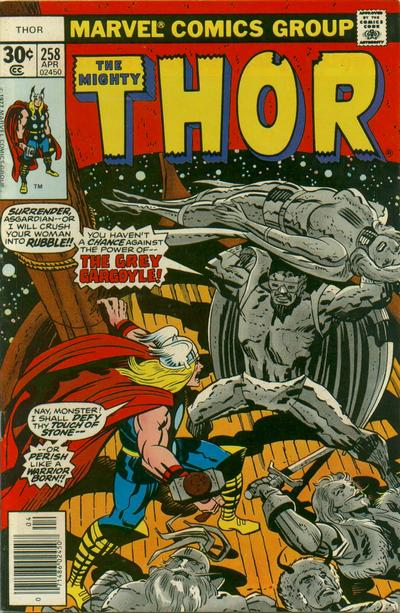 Cover for Thor (Marvel, 1966 series) #258 [Regular Edition]