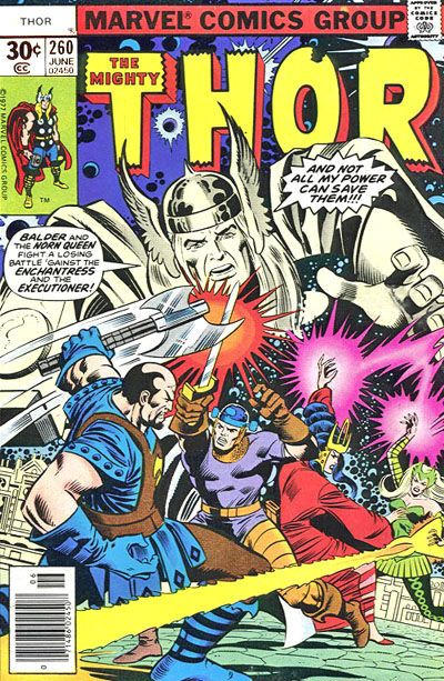 Cover for Thor (Marvel, 1966 series) #260 [30¢ Cover Price]