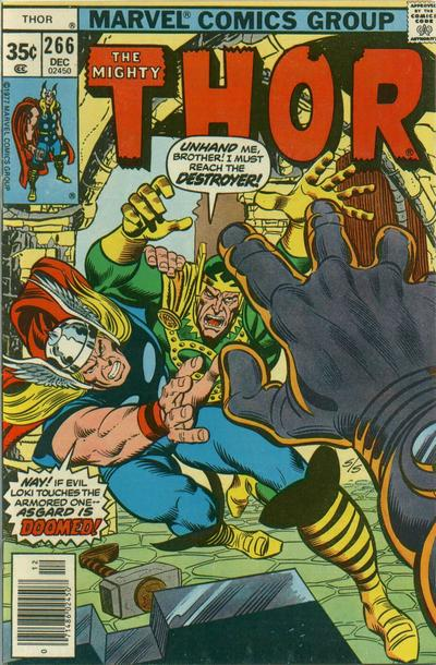 Cover for Thor (Marvel, 1966 series) #266 [Regular Edition]
