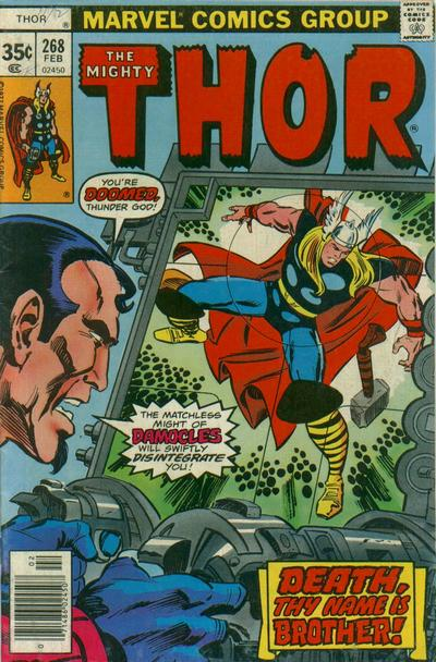 Cover for Thor (Marvel, 1966 series) #268 [Regular Edition]