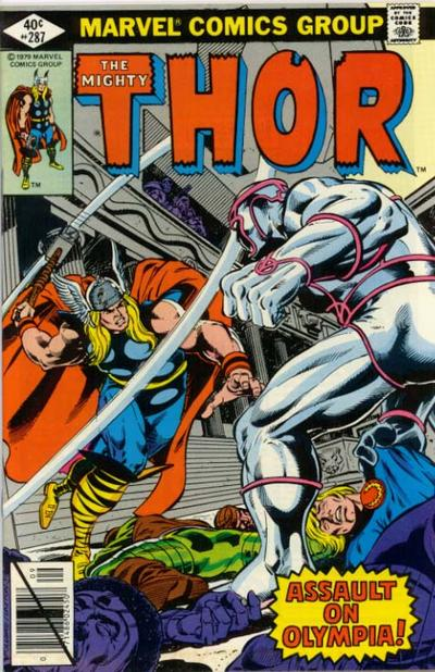 Cover for Thor (Marvel, 1966 series) #287 [direct edition]