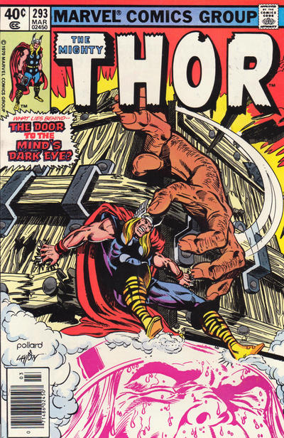 Cover for Thor (Marvel, 1966 series) #293 [Newsstand]