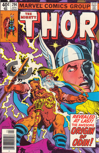 Cover for Thor (Marvel, 1966 series) #294