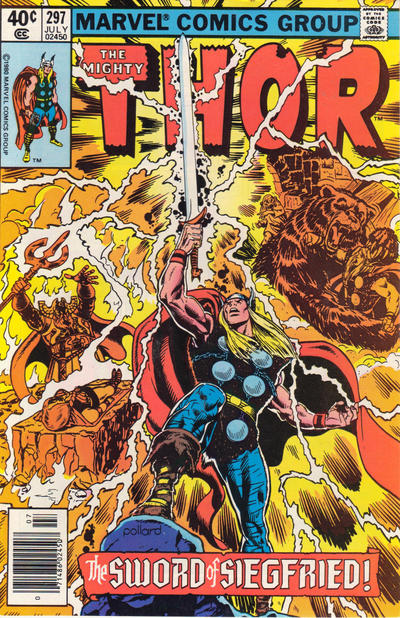 Cover for Thor (Marvel, 1966 series) #297 [Newsstand]