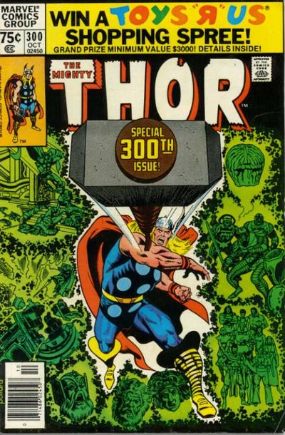 Cover for Thor (Marvel, 1966 series) #300 [Newsstand]