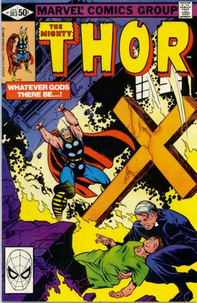 Cover for Thor (Marvel, 1966 series) #303 [Direct]