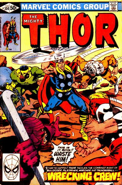 Cover for Thor (Marvel, 1966 series) #304 [Newsstand]
