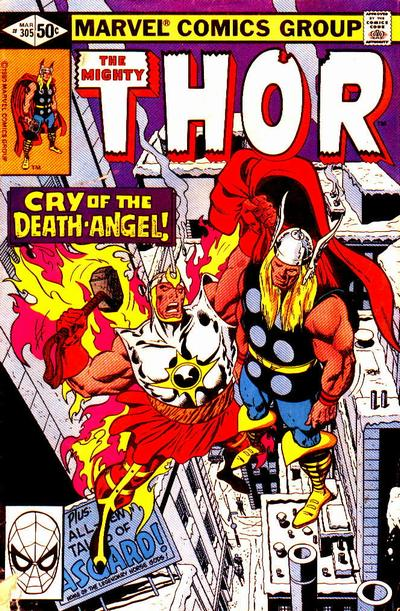 Cover for Thor (Marvel, 1966 series) #305 [Direct]