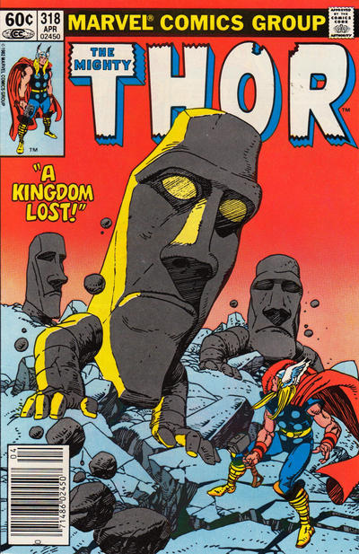 Cover for Thor (Marvel, 1966 series) #318 [Newsstand]