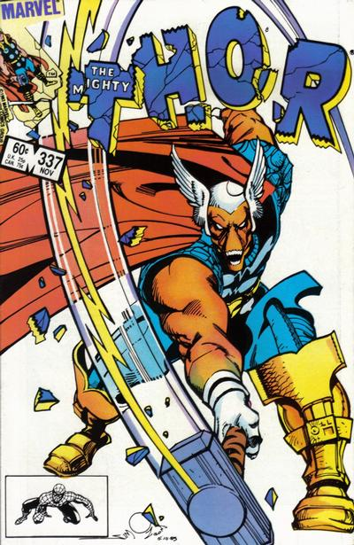 Cover for Thor (Marvel, 1966 series) #337 [Canadian Newsstand]