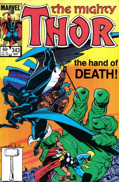 Cover for Thor (Marvel, 1966 series) #343 [Direct]