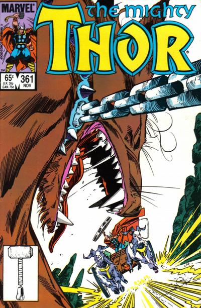 Cover for Thor (Marvel, 1966 series) #361