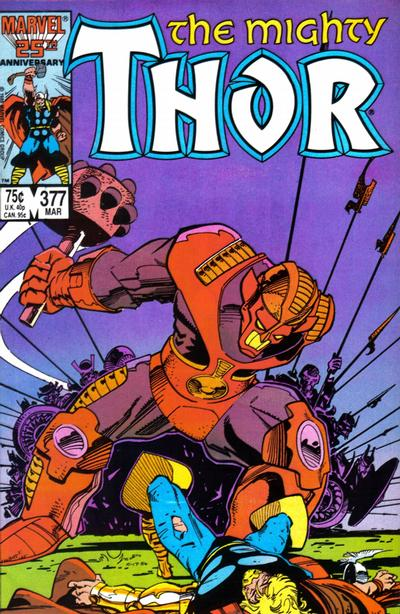 Cover for Thor (Marvel, 1966 series) #377