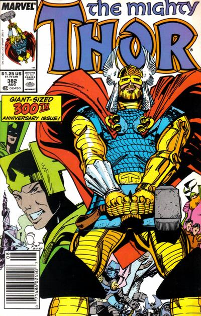 Cover for Thor (Marvel, 1966 series) #382