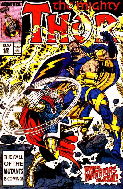 Cover for Thor (Marvel, 1966 series) #386