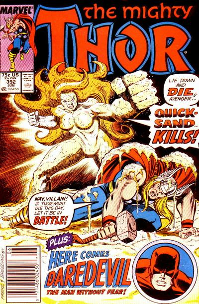 Cover for Thor (Marvel, 1966 series) #392 [Direct]