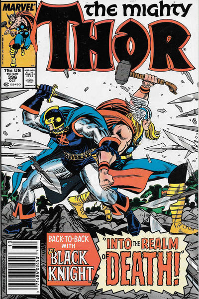 Cover for Thor (Marvel, 1966 series) #396 [Direct]