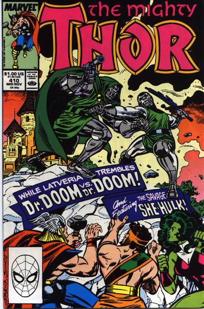 Cover for Thor (Marvel, 1966 series) #410