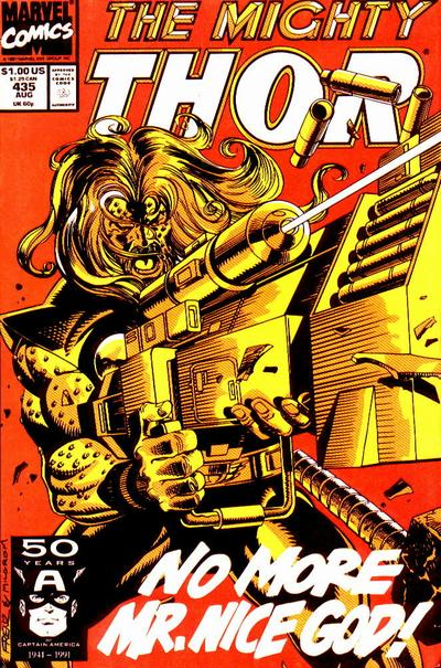 Cover for Thor (Marvel, 1966 series) #435 [Direct]