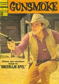 Cover Thumbnail for Gunsmoke Classics (Classics/Williams, 1970 series) #4