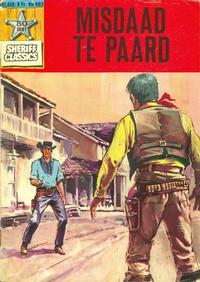 Cover Thumbnail for Sheriff Classics (Classics/Williams, 1964 series) #902