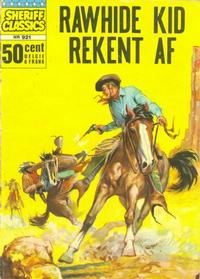 Cover Thumbnail for Sheriff Classics (Classics/Williams, 1964 series) #921