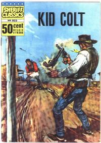 Cover Thumbnail for Sheriff Classics (Classics/Williams, 1964 series) #923