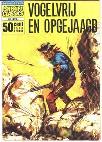Cover Thumbnail for Sheriff Classics (Classics/Williams, 1964 series) #924