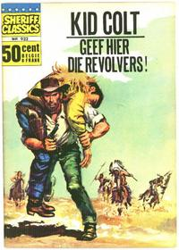 Cover Thumbnail for Sheriff Classics (Classics/Williams, 1964 series) #932