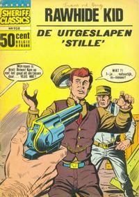 Cover Thumbnail for Sheriff Classics (Classics/Williams, 1964 series) #958