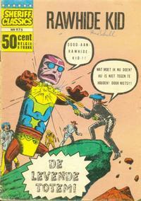 Cover Thumbnail for Sheriff Classics (Classics/Williams, 1964 series) #975