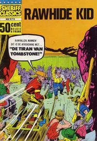 Cover Thumbnail for Sheriff Classics (Classics/Williams, 1964 series) #979