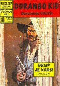 Cover Thumbnail for Sheriff Classics (Classics/Williams, 1964 series) #9185