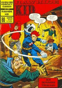 Cover Thumbnail for Sheriff Classics (Classics/Williams, 1964 series) #9188