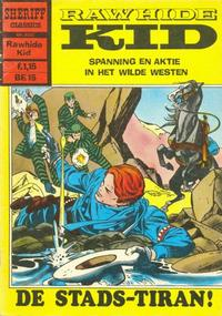 Cover Thumbnail for Sheriff Classics (Classics/Williams, 1964 series) #9233