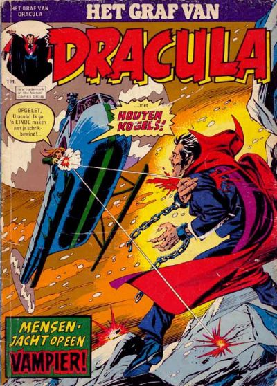 Cover for Het graf van Dracula (Classics/Williams, 1975 series) #1